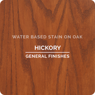 General Finishes Water Based Wood Stain - Hickory (ON OAK)