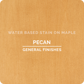 General Finishes Water Based Wood Stain - Pecan (ON MAPLE)