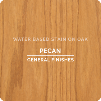 General Finishes Water Based Wood Stain - Pecan (ON OAK)