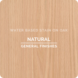 General Finishes Water Based Wood Stain - Natural (ON OAK)