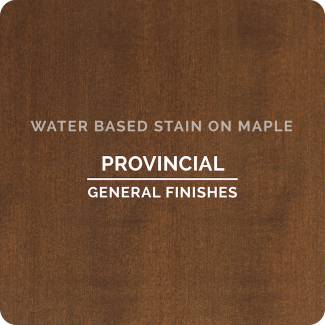 General Finishes Water Based Wood Stain - Provincial (ON MAPLE)