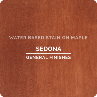General Finishes Water Based Wood Stain - Sedona (ON MAPLE)