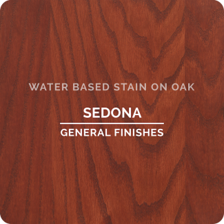 General Finishes Water Based Wood Stain - Sedona (ON OAK)