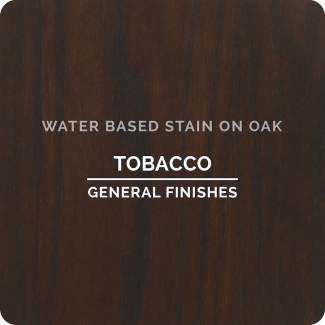 General Finishes Water Based Wood Stain - Tobacco (ON OAK)