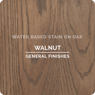 General Finishes Water Based Wood Stain - Walnut (ON OAK)