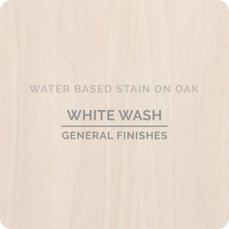 General Finishes Water Based Wood Stain - Whitewash (ON OAK)
