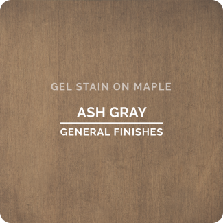 General Finishes Oil Based Gel Stain - Ash Gray (ON MAPLE)