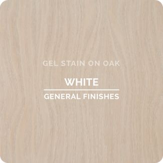 General Finishes Oil Based Gel Stain - White (ON OAK)