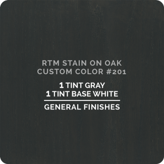 General Finishes RTM Wood Stain Custom Color - #201 (ON OAK)