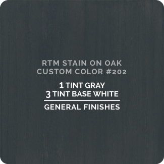 General Finishes RTM Wood Stain Custom Color - #202 (ON OAK)
