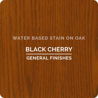General Finishes Water Based Wood Stain - Black Cherry (ON OAK)