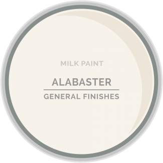General Finishes Milk Paint - Alabaster