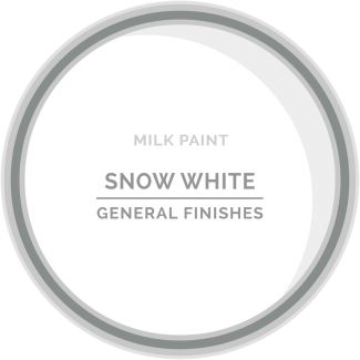 General Finishes Milk Paint - Snow White