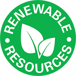 General Finishes Renewable Resources Icon - Water Based Finishes