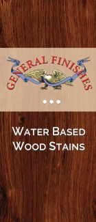 General Finishes Water Based Wood Stain Brochure