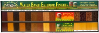 Exterior 450 Wood Stain Color Board