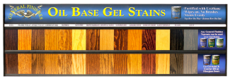 Oil Based Gel Stain Board