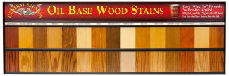 Oil Based Penetrating Wood Stain Board