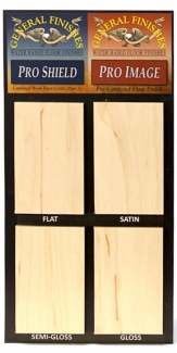 Flooring Topcoat Sheen Board