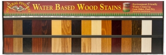 Water Based Wood Stain Color Board