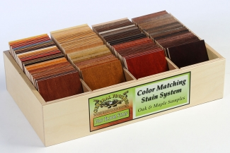 Flooring Color Chip Box w/out Lid