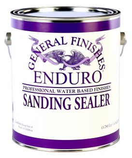 General Finishes Enduro Water Based Sanding Sealer, Gallon