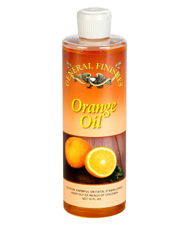 General Finishes Oil Based Orange Oil Furniture Polish, 16 oz Bottle