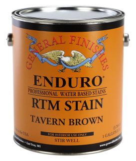 General Finishes Bordeaux Enduro Ready to Match RTM Water Based Stain, Gallon