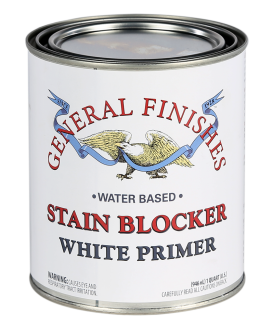 General Finishes Water Based White Primer Stain Blocker, Quart