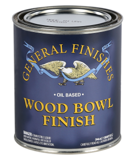 General Finishes Oil Based Wood Bowl Finish, 1 Quart