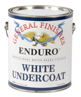 General Finishes Water Based White Primer Enduro White Undercoat, Gallon