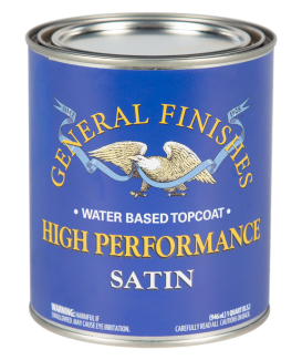 General Finishes High Performance Water-Based Topcoat
