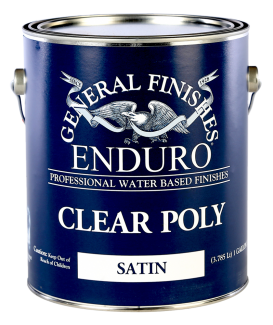 General Finishes Clear Poly Professional Topcoat