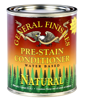 General Finishes Water Based Pre Stain Conditioners