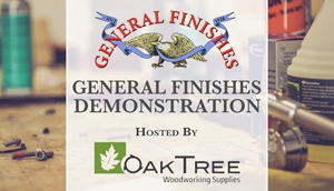 General Finishes Demo at Oak Tree Supplies in Fort Wayne, IN