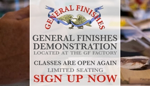 General Finishes Demo at GF Factory in East Troy, WI