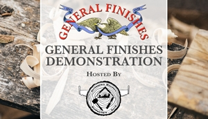 General Finishes Demonstration at Northeastern Wisconsin Woodworkers Guild in Green Bay, WI