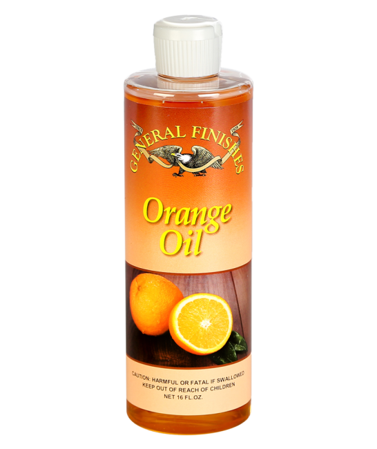 General Finishes Orange Oil 16 Oz Bottle