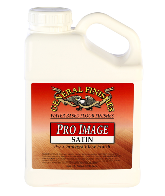 General Finishes Satin Pro Image Floor Water Based Topcoat, Gallon
