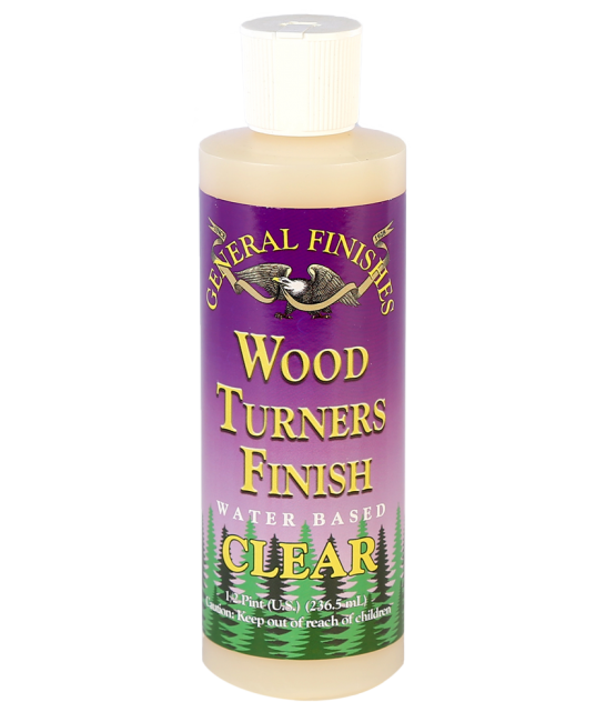 General Finishes Water Based Wood Turners Finish