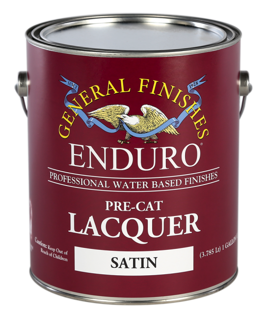 Enduro Water Based Pre Cat Lacquer