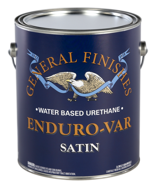 General Finishes Enduro-Var Water Based Urethane Topcoat, Gallon