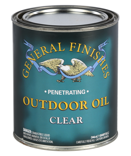 General Finishes Oil Based Outdoor Oil, Quart