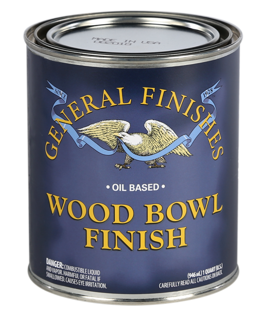 General Finishes Wood Bowl Finish, 1 Quart