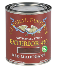 General Finishes Water Based Wood Stain Exterior 450  with RENEWABLE RESOURCES