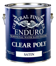 General Finishes Enduro Water Based Clear Poly
