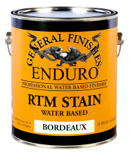 General Finishes Bordeaux Enduro Ready to Match (RTM) Water Based Stain, Gallon