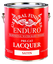 General Finishes Satin Enduro Pre-Cat Lacquer, Gallon