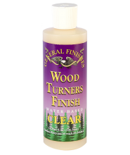 General Finishes Clear Wood Turner's Finish, 1/2 Pint Bottle