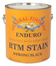 General Finishes Strong Black Enduro Ready to Match RTM Water Based Stain, Gallon
